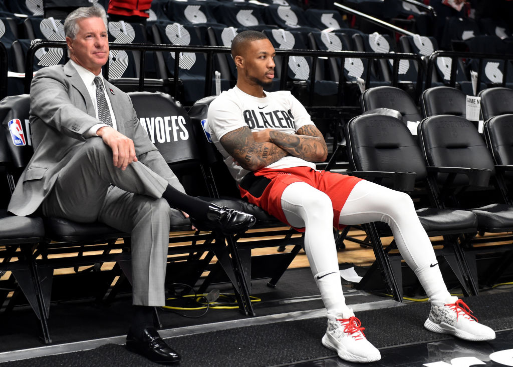 Portland's Neil Olshey is on the short list to win NBA Executive of the Year.