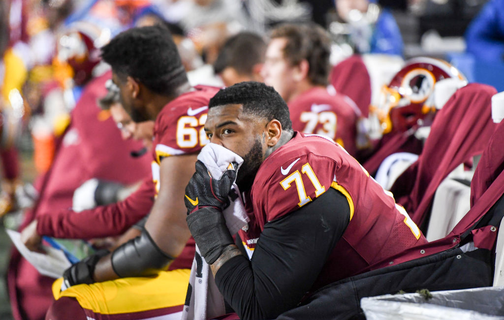 Trent Williams has had enough of playing for the Washington Redskins.