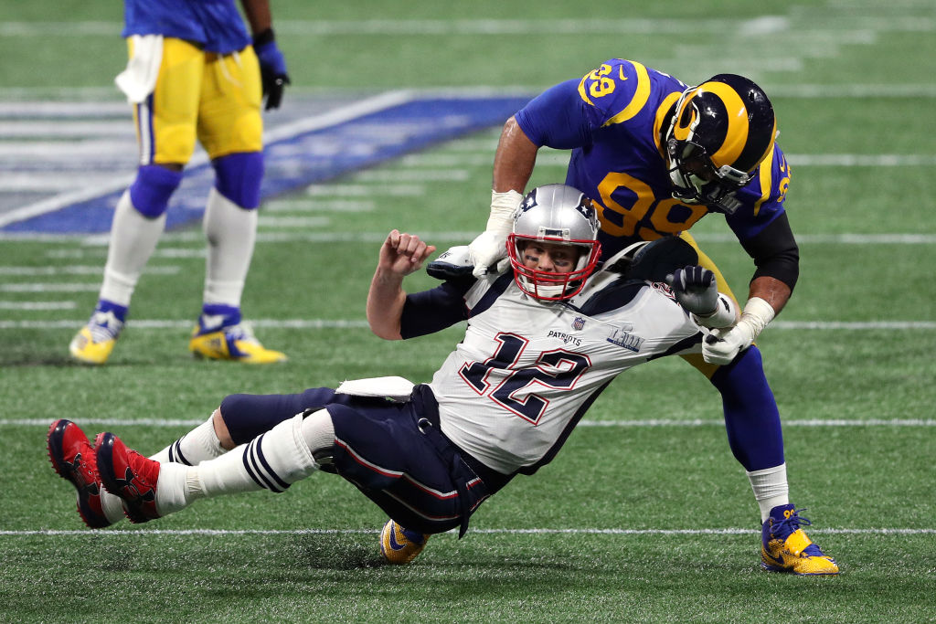 Aaron Donald (right) is already one of the best defensive players in the NFL, and opponents have more reasons to fear him now.