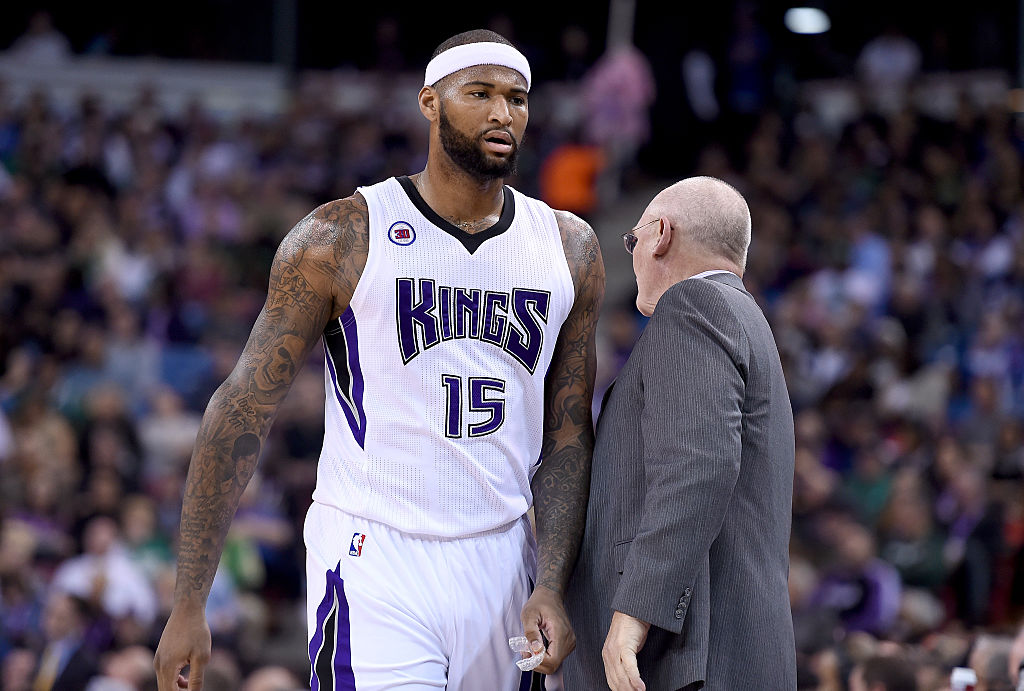 DeMarcus Cousins is no stranger to notorious tweets, including one that might have been directed at former Sacramento coach George Karl.
