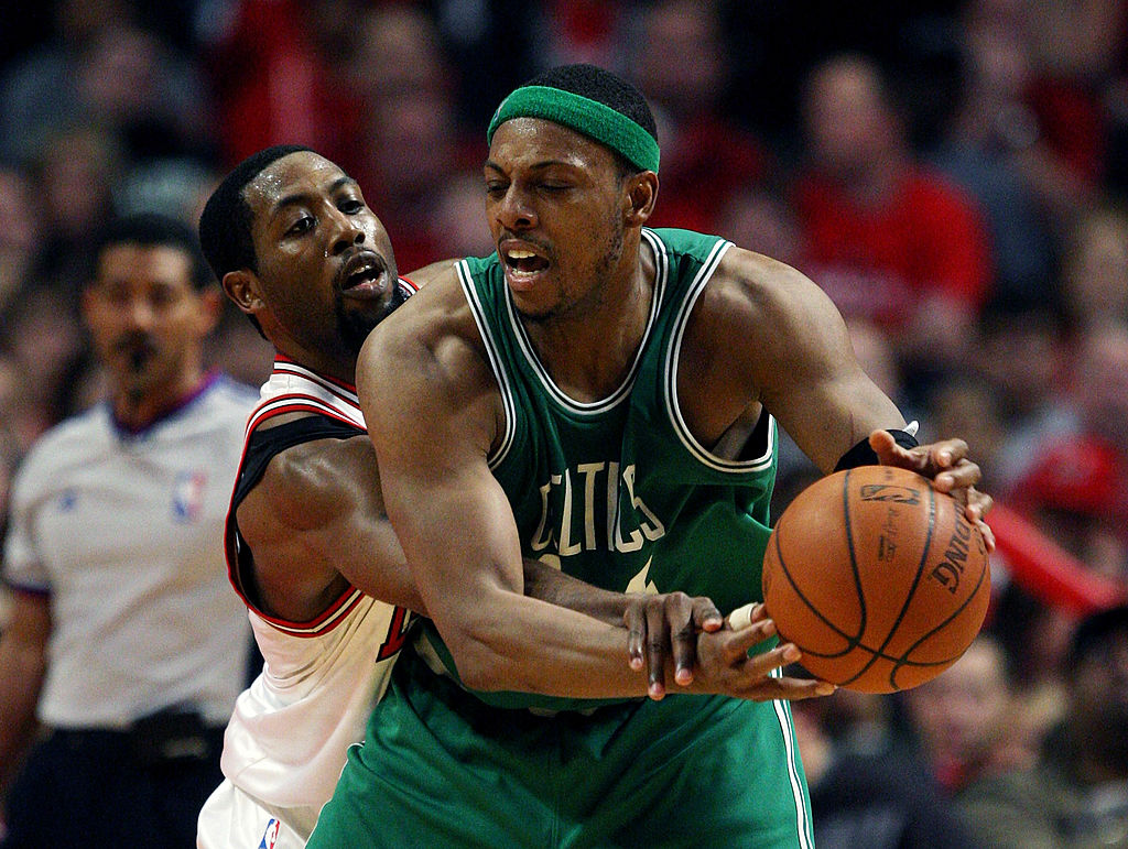 Former Boston Celtics star Paul Pierce made several off-the-wall comments before and during the 2019 NBA playoffs.