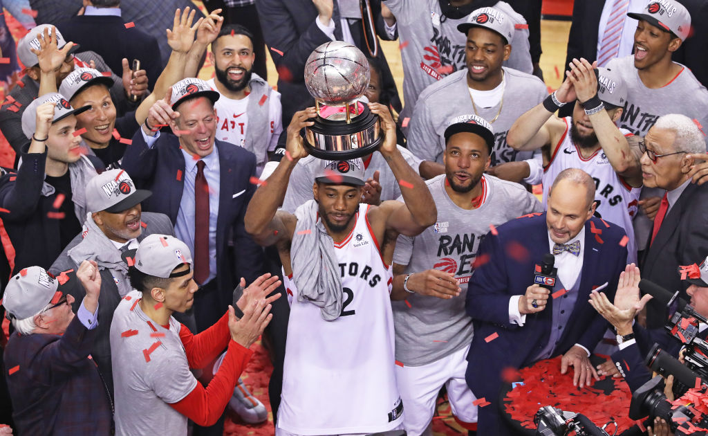 The Toronto Raptors considered several other nicknames and wore several different jerseys before making the 2019 NBA Finals.