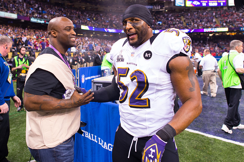 Even when he walked away, Ray Lewis was one of the retired athletes who looked like he could still play the game.