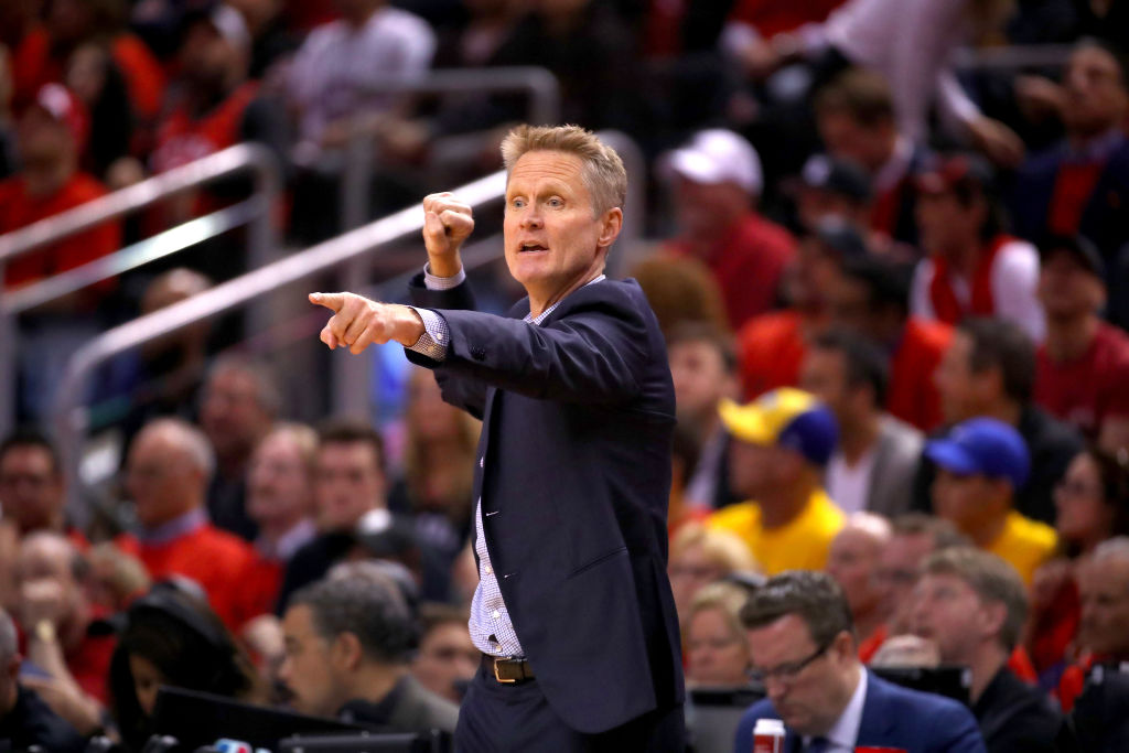 Warriors coach Steve Kerr puts Bill Russell first and foremost on his NBA Mount Rushmore.