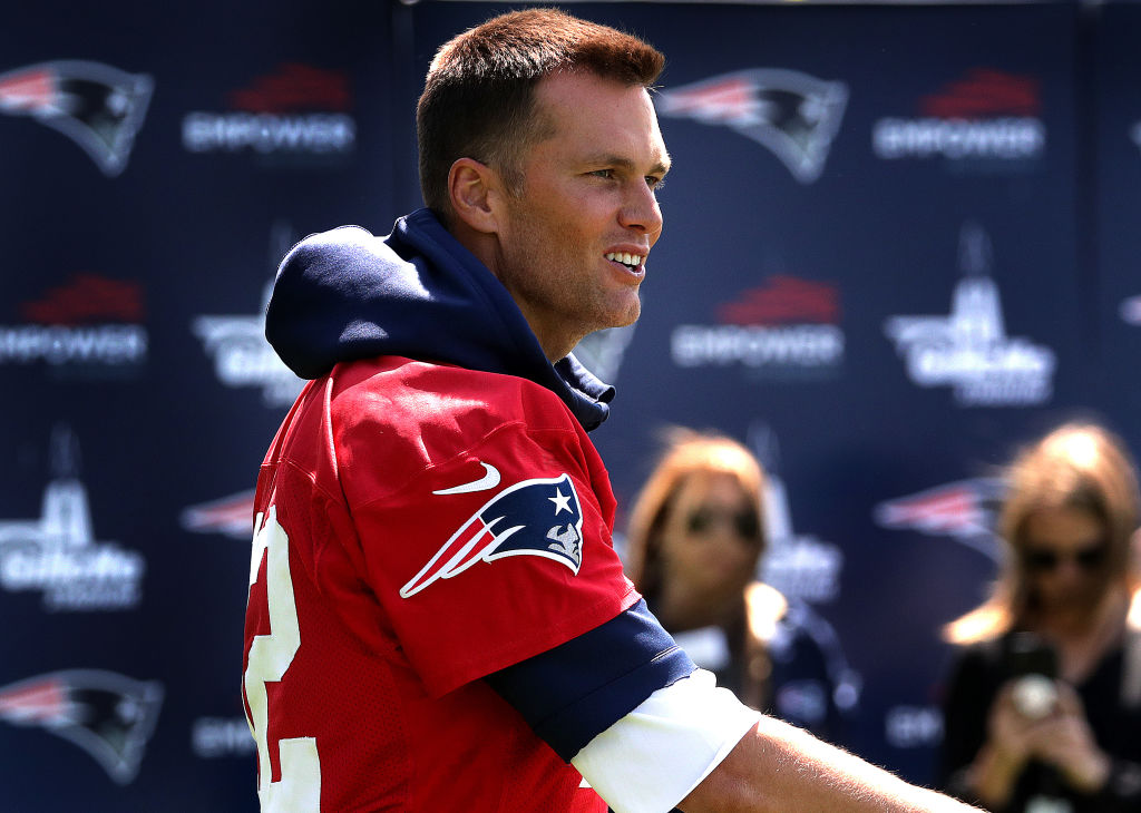Tom Brady is old in football years, and his age might be starting to affect the New England Patriots.