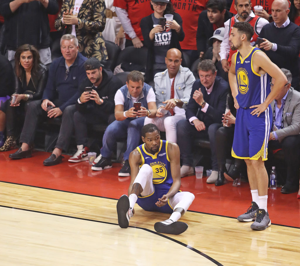 Playing without Kevin Durant greatly affected the Golden State Warriors in the 2019 NBA Finals.