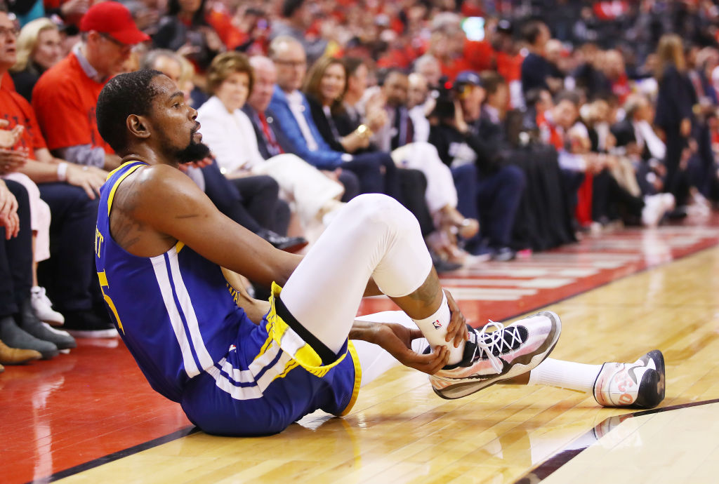 Playing without Kevin Durant greatly affected the Golden State Warriors in the 2019 Finals.
