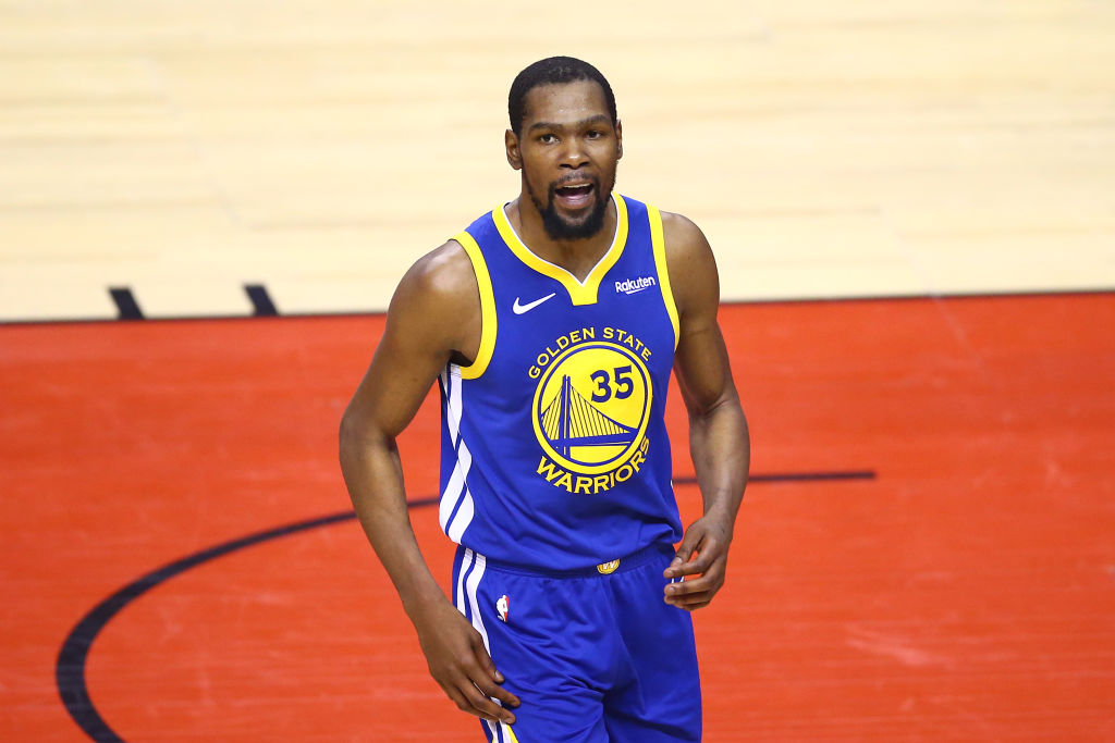 Kevin Durant played all of 12 minutes in the 2019 NBA Finals, and his absence greatly affected the Golden State Warriors.