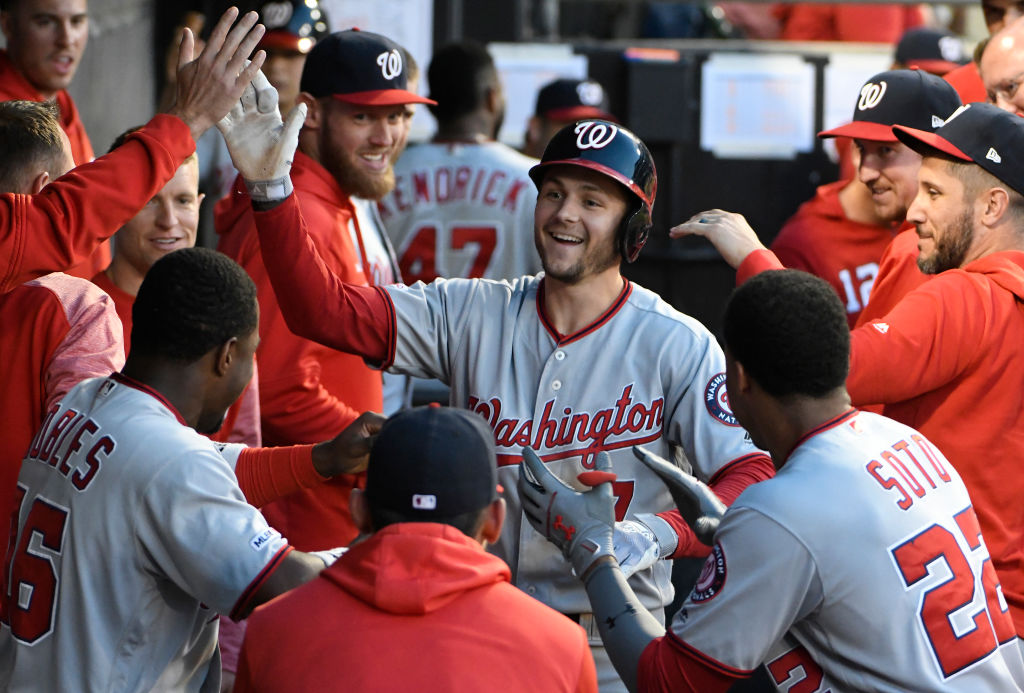 Trea Turner is helping the Washington Nationals set records during what has proved to be a lost season.