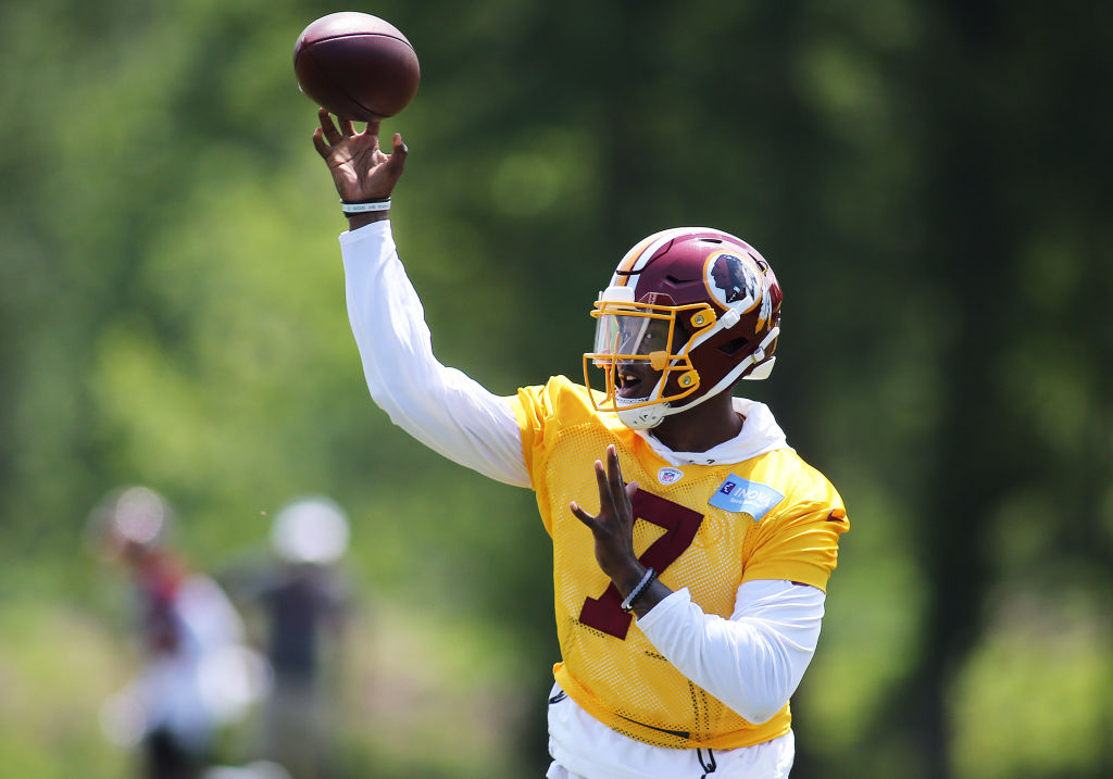 First-round pick Dwayne Haskins is one of the young NFL players who could have a breakout season in 2019.