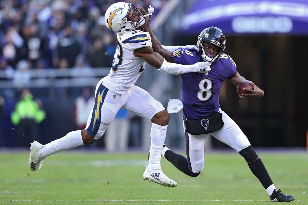 Lamar Jackson is one of the young NFL players who could have a breakout season in 2019.