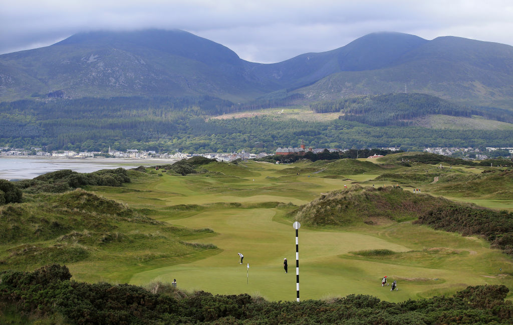 Exclusive golf club Royal County Down