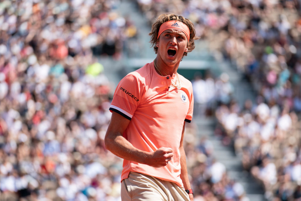 2018 French Open - Alexander Zverev
