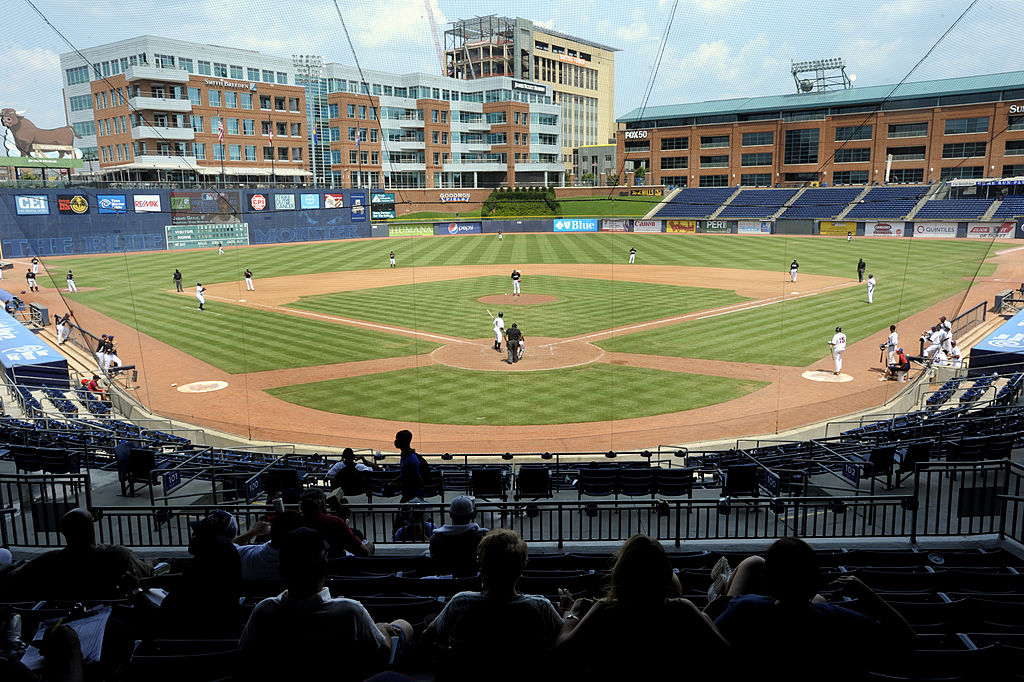 Durham Athletic Park is one of the best minor league baseball stadiums out there.