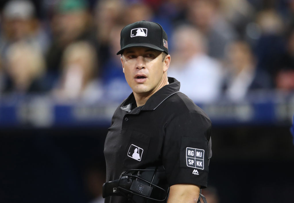 Chris Segal is one of the top-rated MLB umpires in 2019.