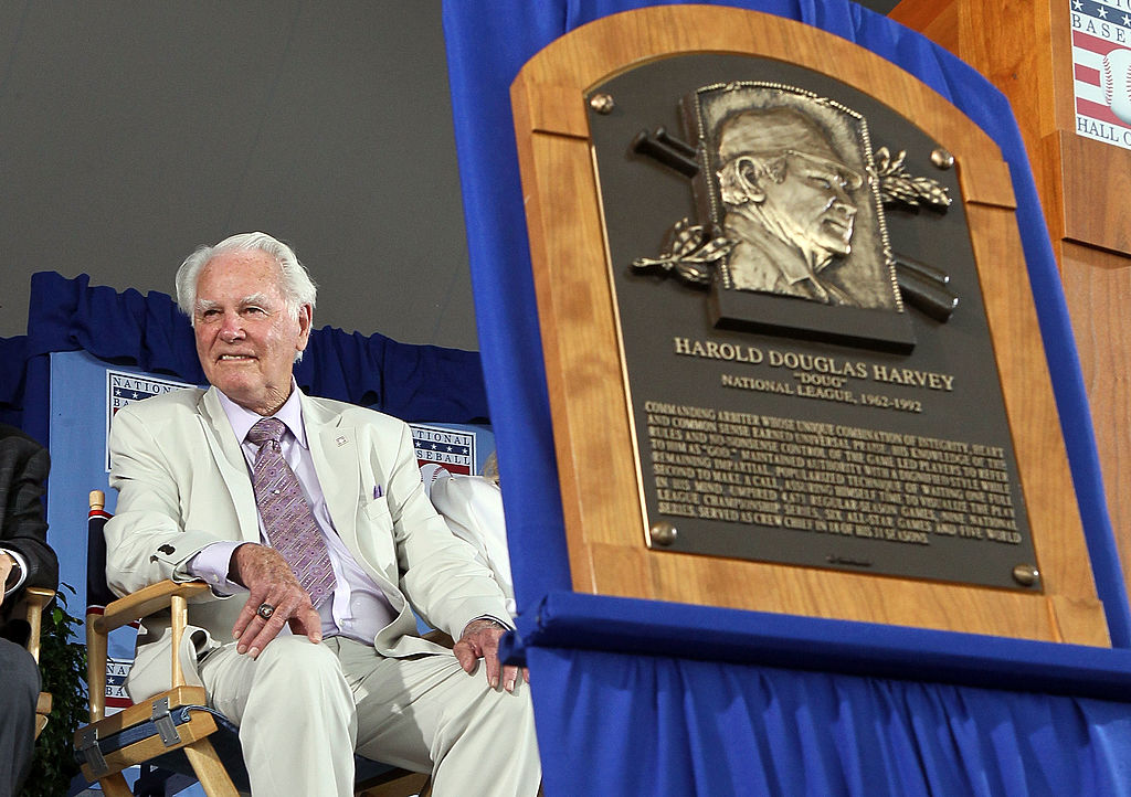 Doug Harvey is one of the few MLB umpires to make the Hall of Fame.