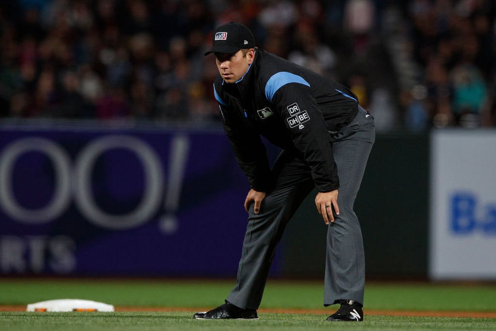 John Libka is one of the top-rated MLB umpires in 2019.