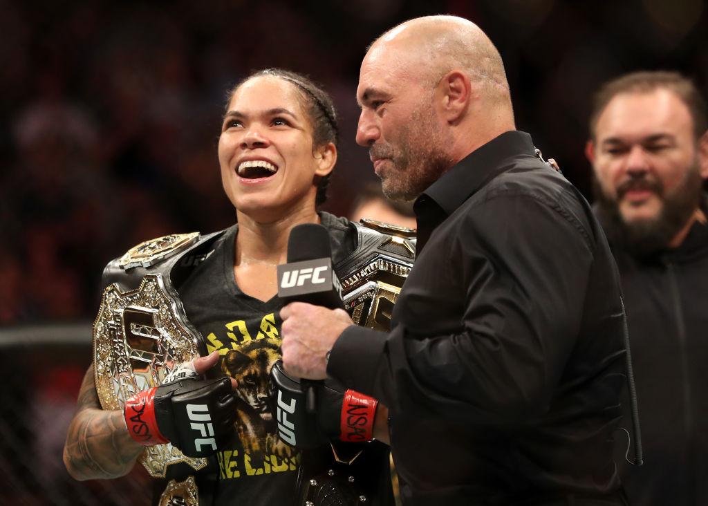 UFC 239 Nunes v Holm - Amanda Nunes of Brazil