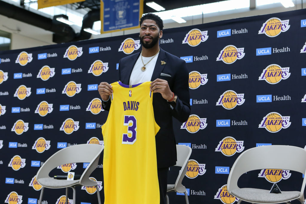 Anthony Davis found out about his trade to the Los Angeles Lakers on social media.