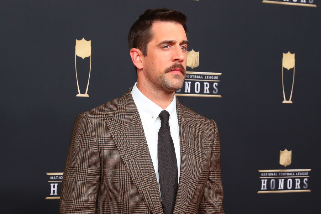 Aaron Rodgers joined the athletes to go Hollywood when he had a small role in Game of Thrones.