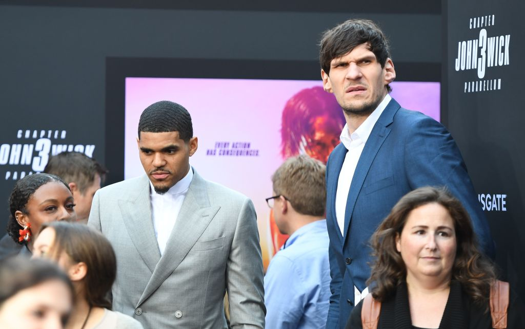 Boban Marjanovic joined the athletes to go Hollywood with his small role in John Wick 3.