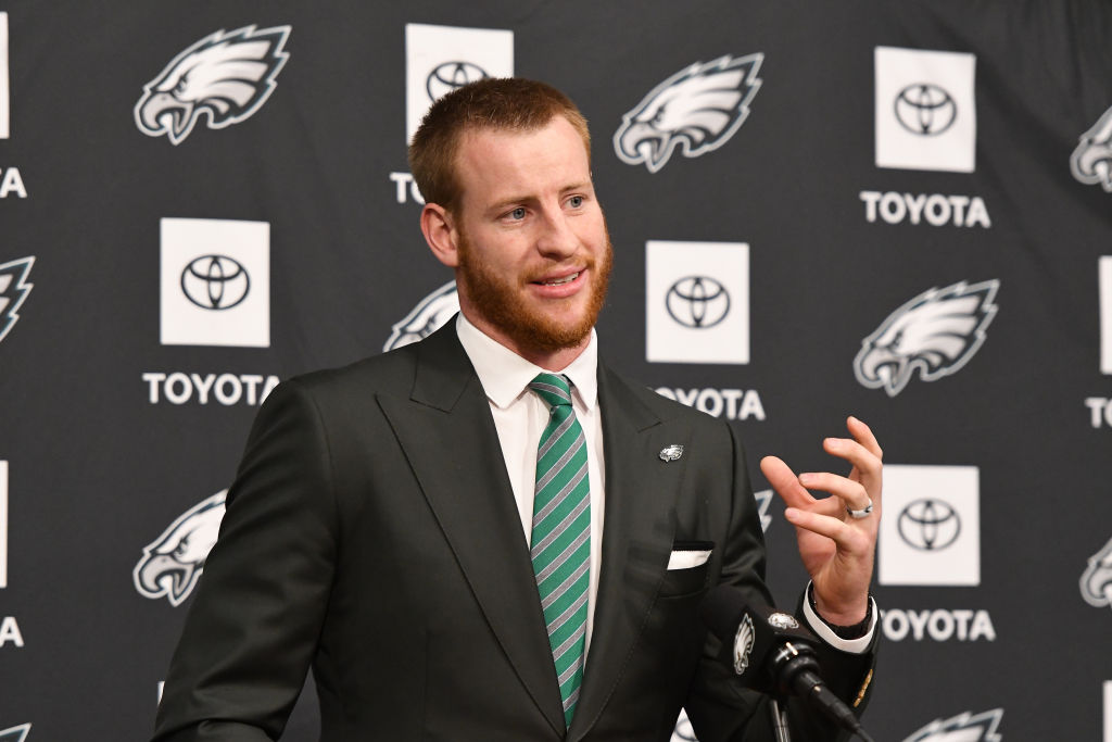 The Eagles felt locking up Carson Wentz before the 2019 season was the smart move.