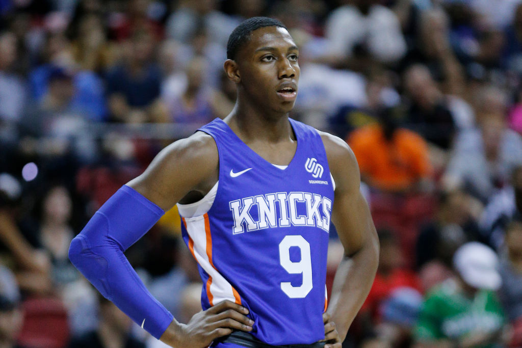 R.J. Barrett struggled in the NBA summer league, but Duke's Coach K says there's nothing for Knicks fans to worry about.