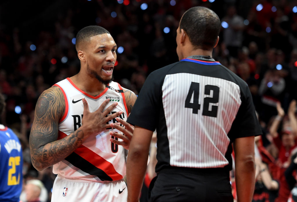 Damian Lillard has some thoughts on the NBA's new-look Western Conference.