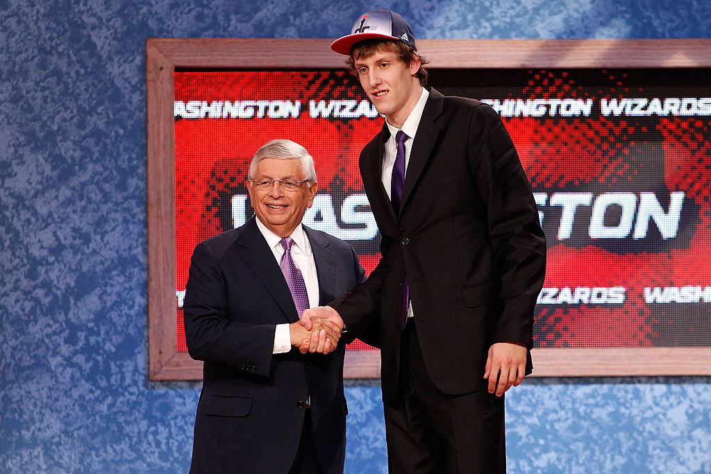 Jan Vesely went ahead of Kawhi Leonard in the 2011 NBA draft.