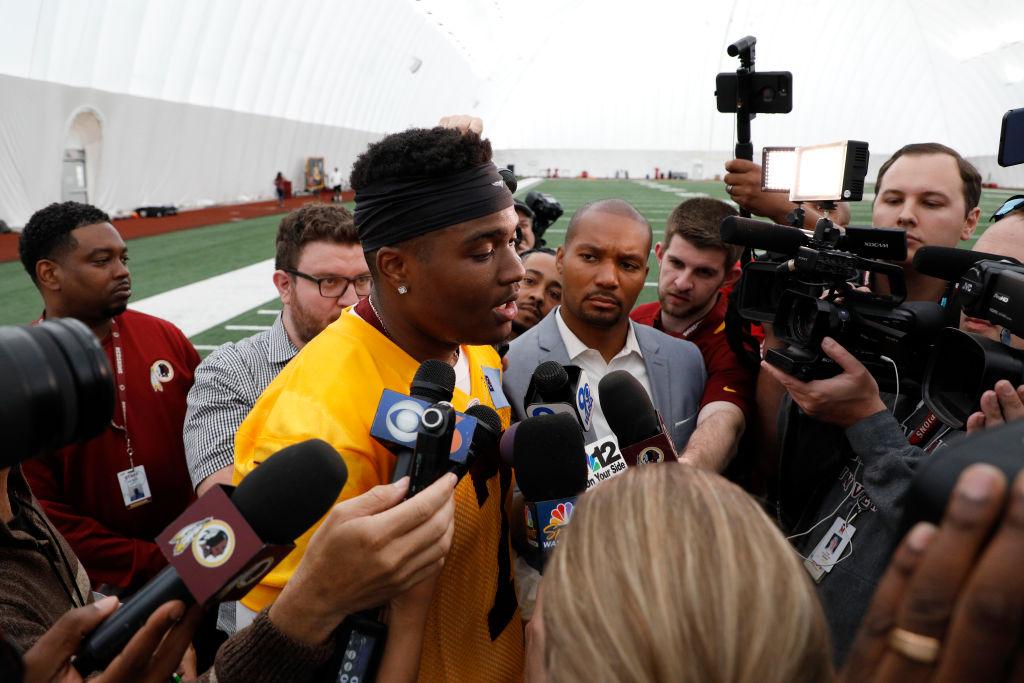Washington Redskins Rookie Camp - Dwayne Haskins