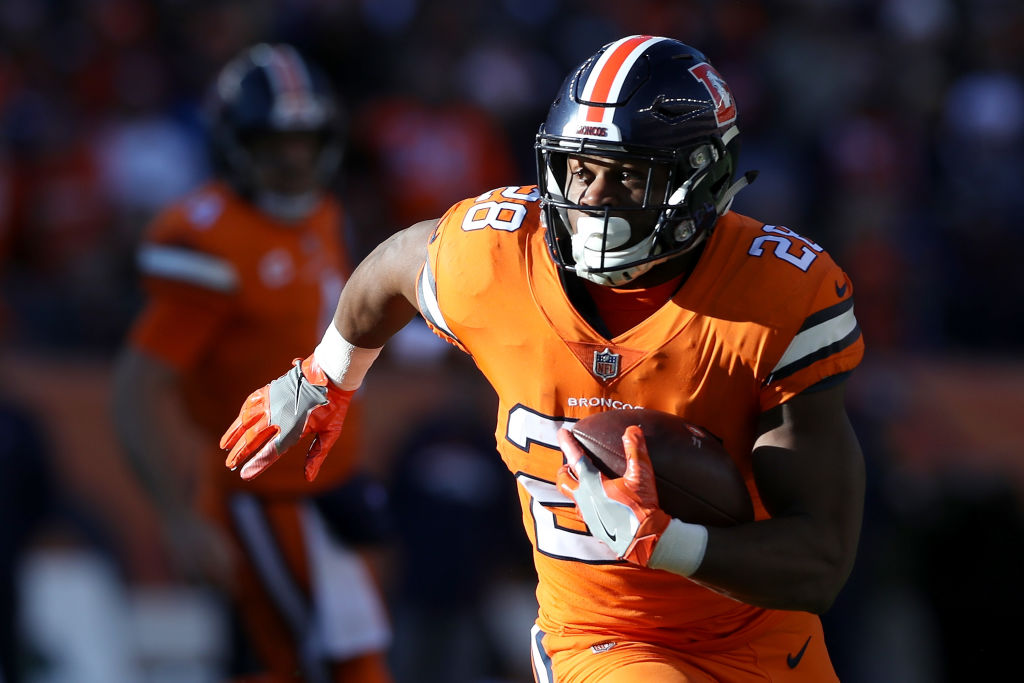 Denver's Royce Freeman is one of the NFL running backs who could surpass fantasy expectations in 2019.