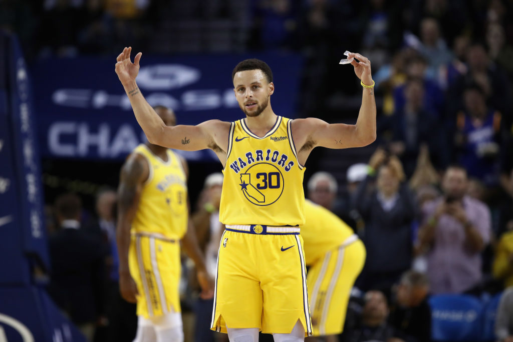 Stephen Curry hopes to hear plenty of MVP chants this season