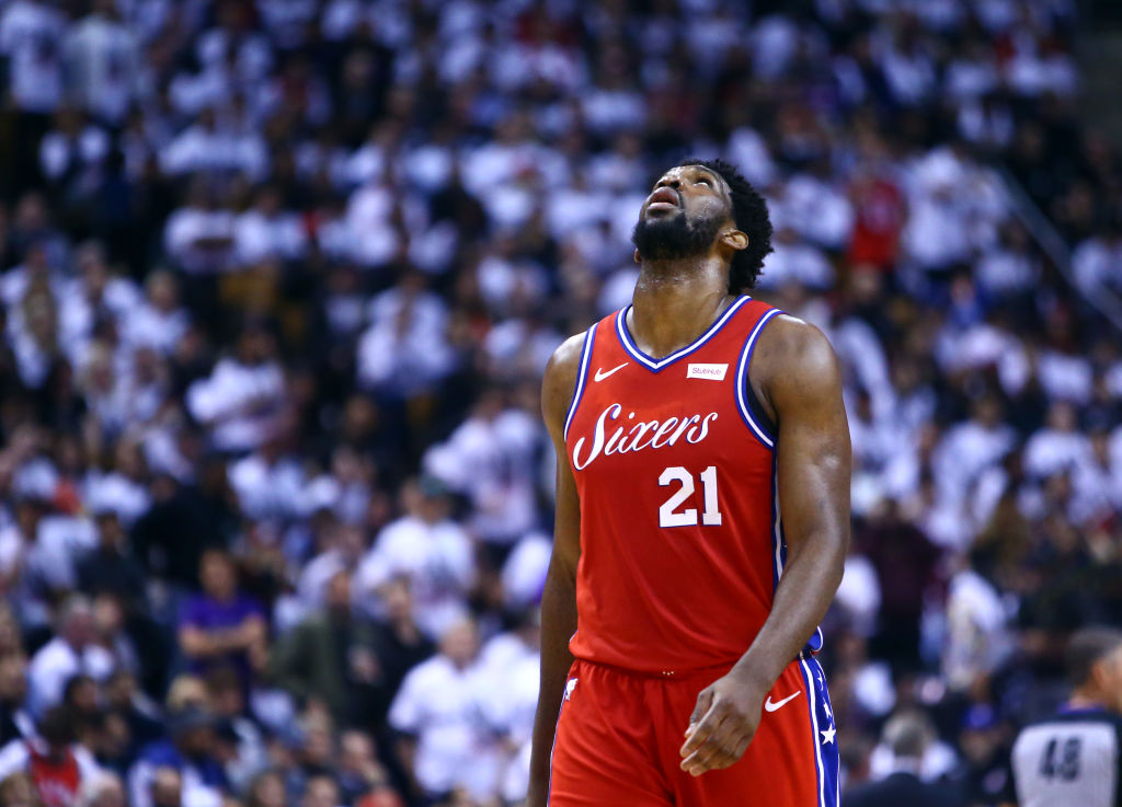 Joel Embiid feels the heartbreak of a Game 7 loss