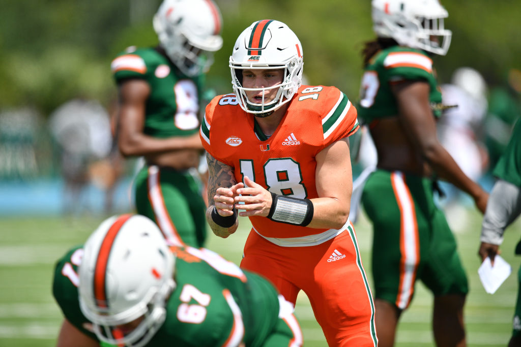 Tate Martell hopes to secure the starting job in Miami