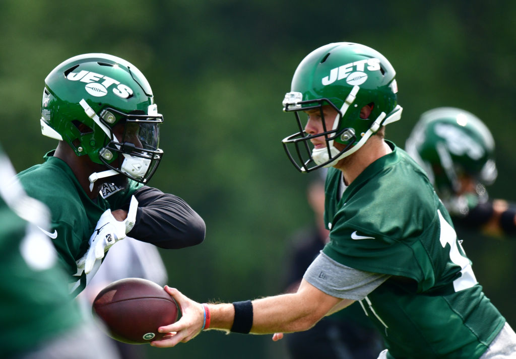 Sam Darnold and LeVeon Bell could have a bright future together