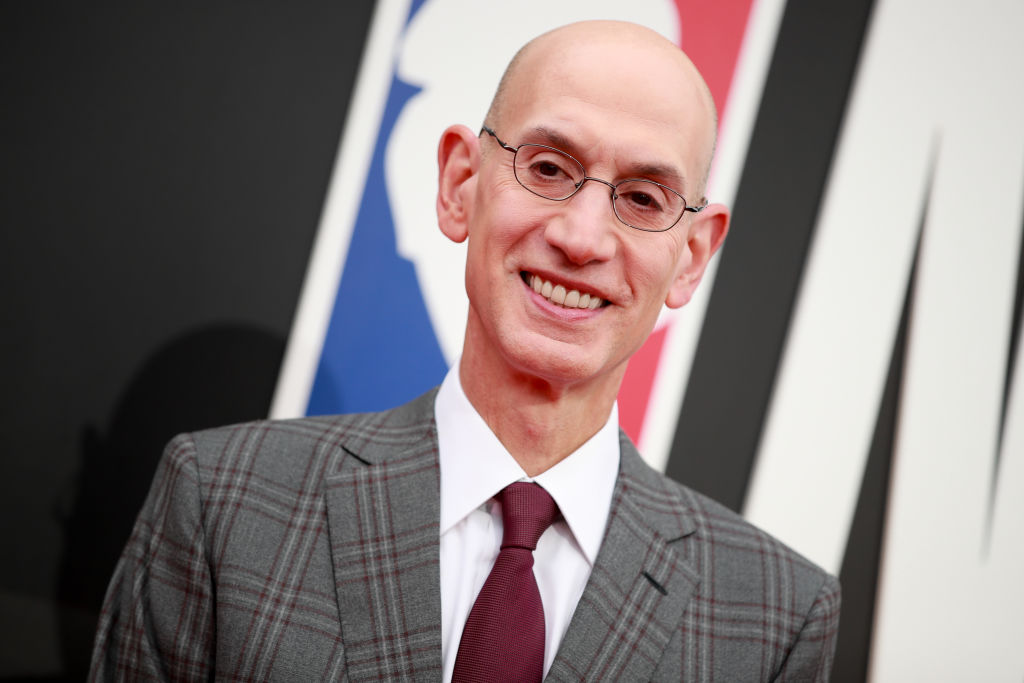 Adam Silver attending the 2019 NBA Awards