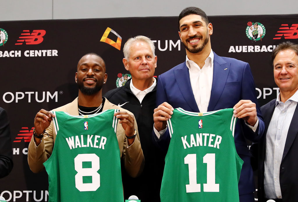 Kemba Walker and Enes Kanter join the Boston Celtics
