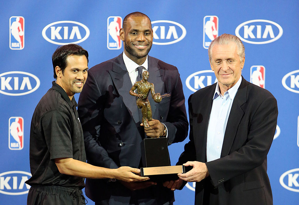 Erik Spoelstra and Pat Riley would love to add another MVP
