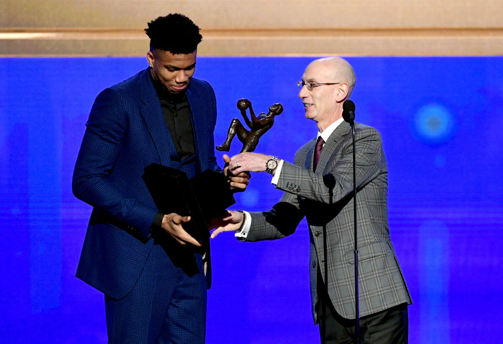 Giannis Antetokounmpo deserved the NBA MVP award, but he doesn't like having that title.