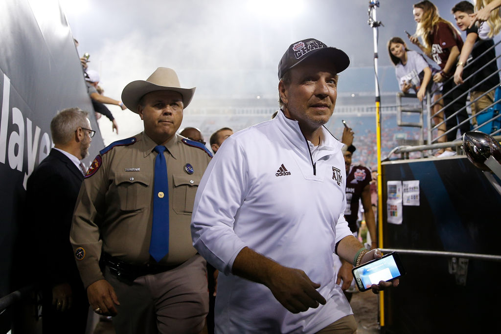 Texas A&M's Jimbo Fisher is one of the highest paid college football coaches in 2019.