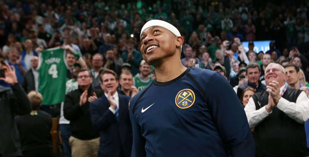Isaiah Thomas hopes to reboot his NBA career with the Wizards.