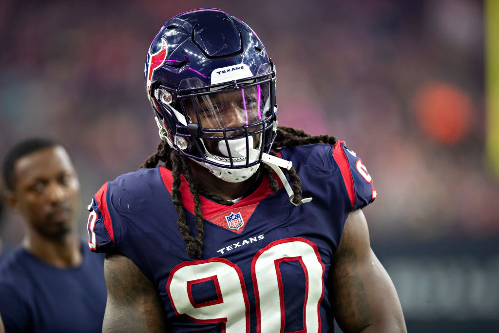 Jadaveon Clowney wants a contract extension, but he shouldn't expect the Texans to offer one anytime soon.