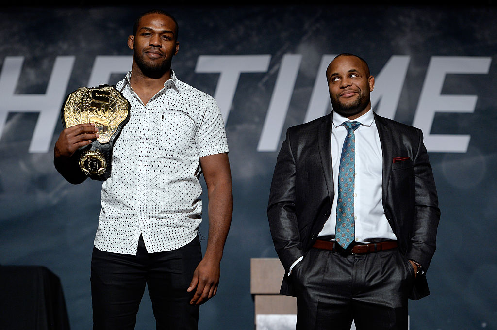 Jon Jones and Daniel Cormier