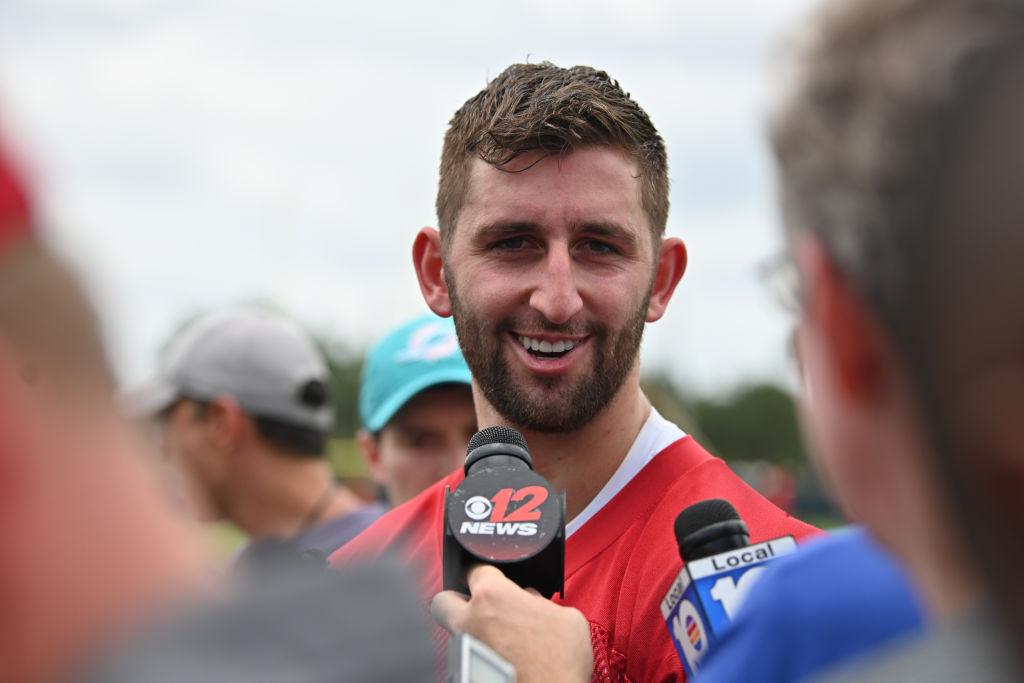 Miami Dolphins OTA - Josh Rosen Quarterback
