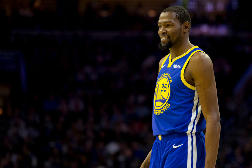 Kevin Durant is welcome back with the Golden State Warriors anytime.