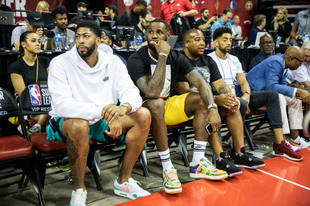 Anthony Davis and LeBron James form a dynamic duo for the Lakers, as long as their health doesn't get in the way.