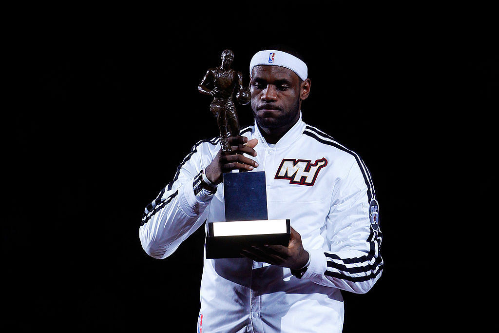 LeBron James last won an NBA MVP award in 2013, but he's among the frontrunners to win in 2020.