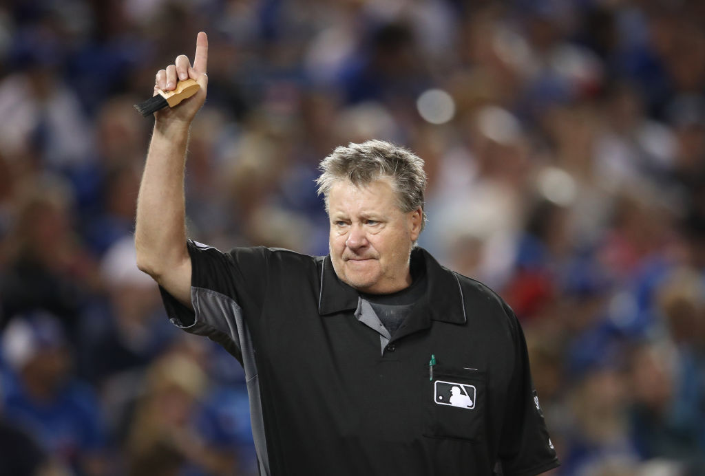 Gary Cederstrom is one of the oldest umpires working in MLB in 2019.