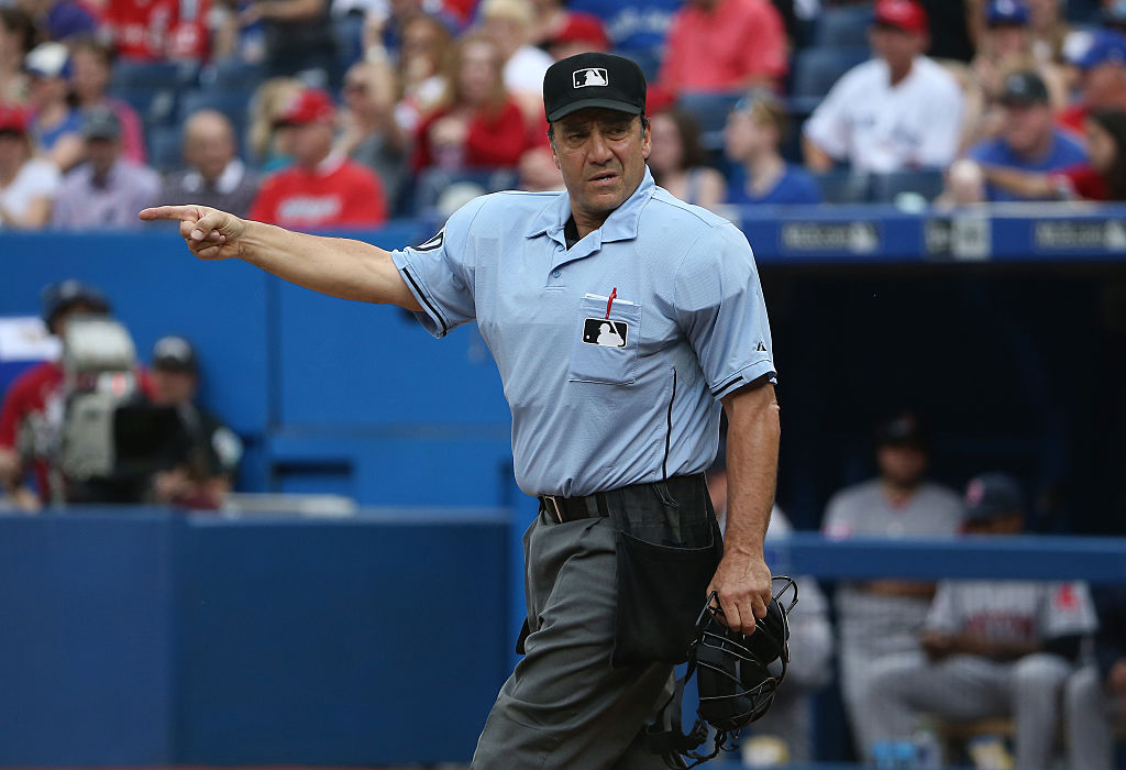 Phil Cuzzi is one of the oldest umpires working in MLB in 2019.