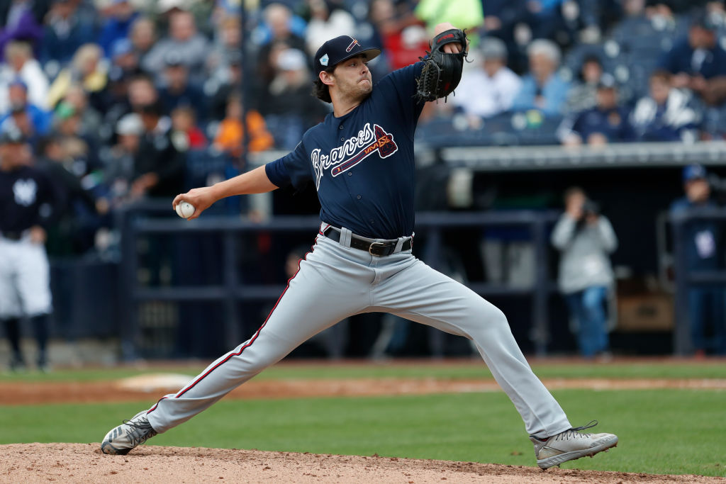 Braves pitcher Ian Anderon is one the MLB prospects who could impact the playoff race.